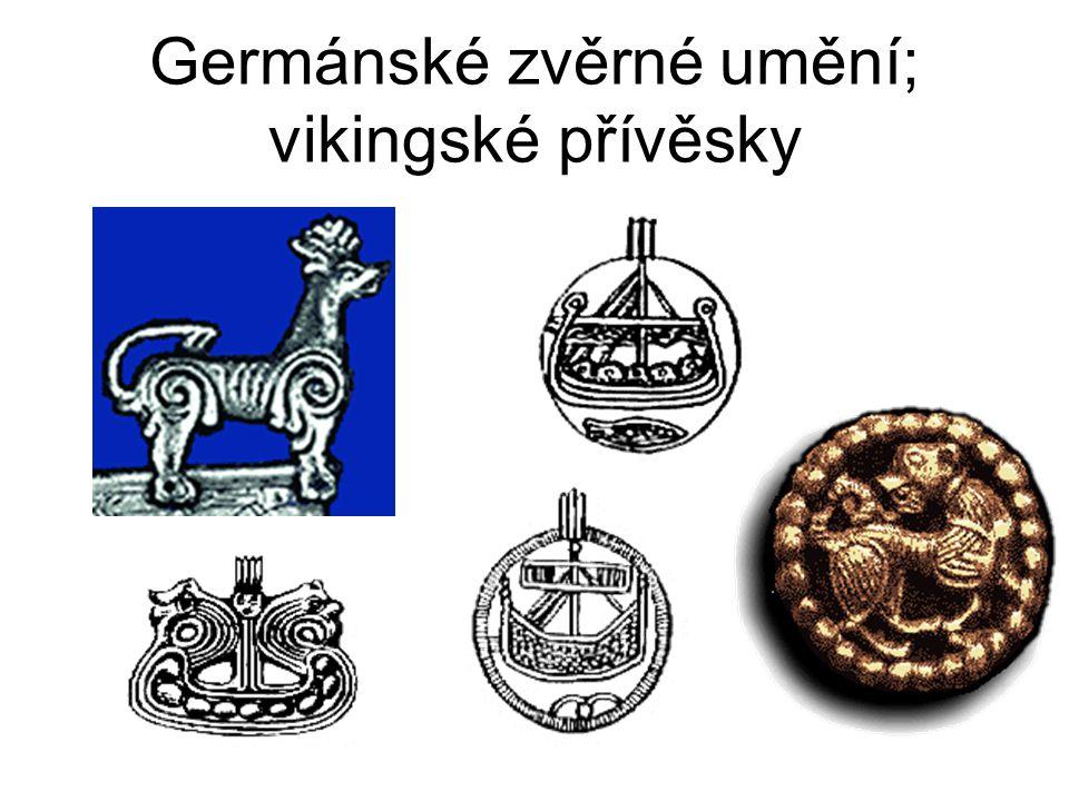 Germánské zvěrné umění; vikingské přívěsky