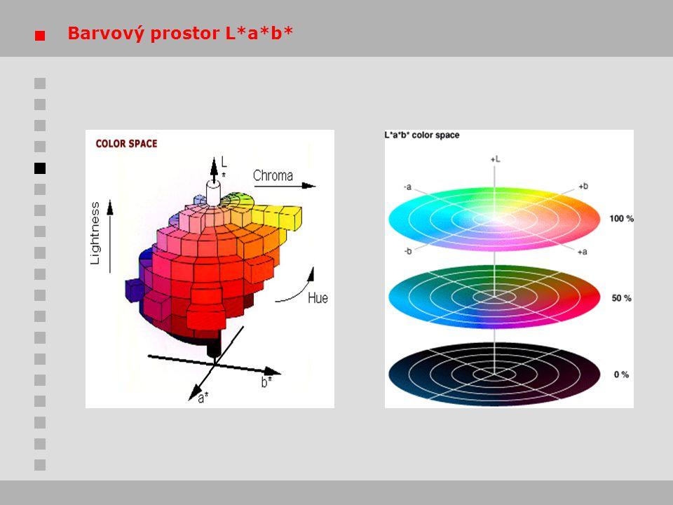 Barvový prostor L*a*b*