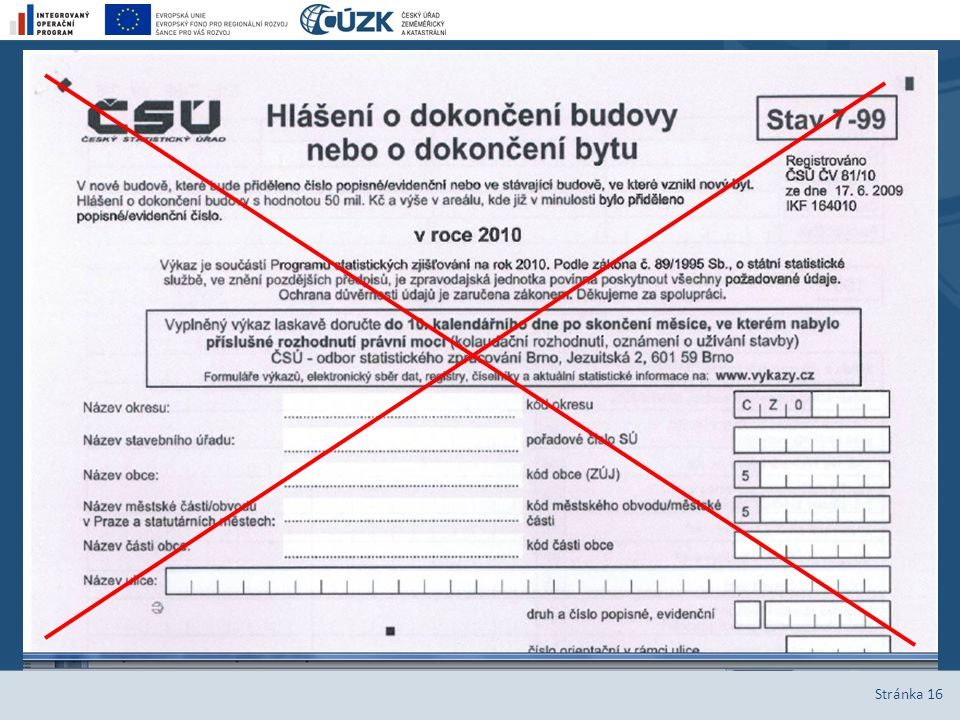 5. Služby registru, příklady využití