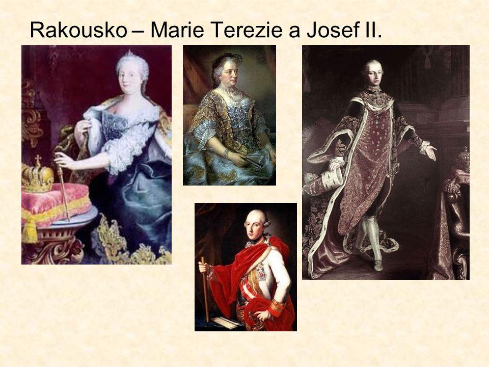 Rakousko – Marie Terezie a Josef II.