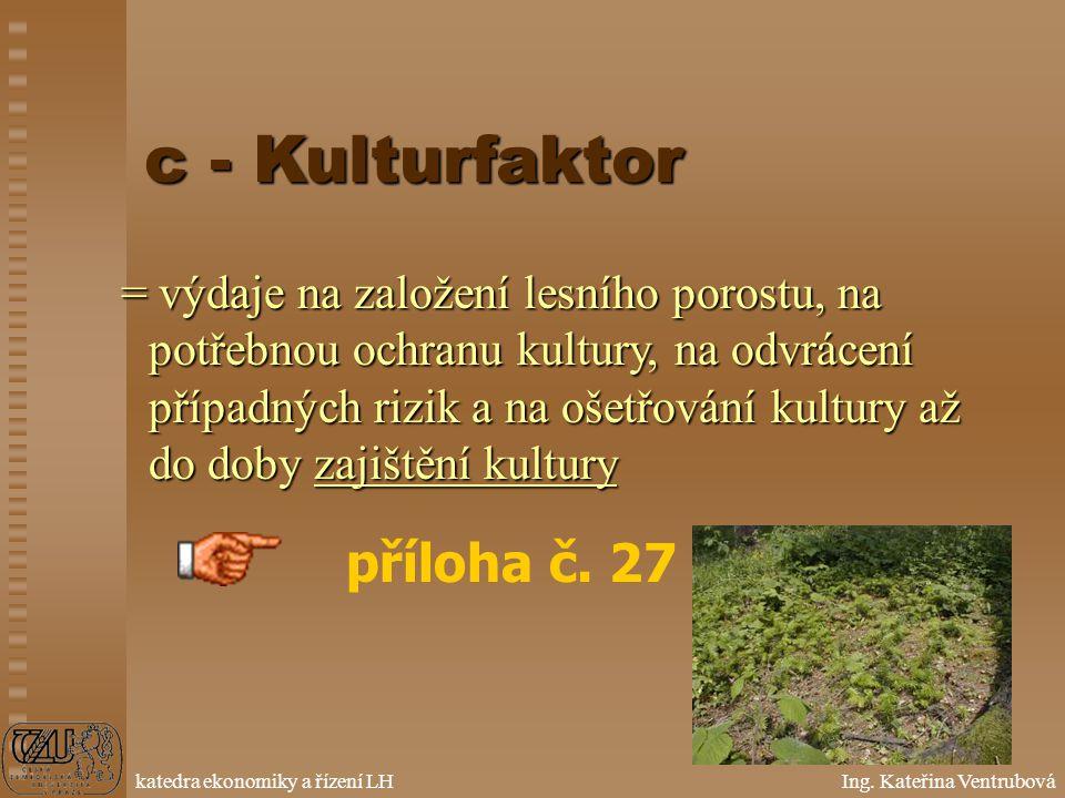 c - Kulturfaktor příloha č. 27