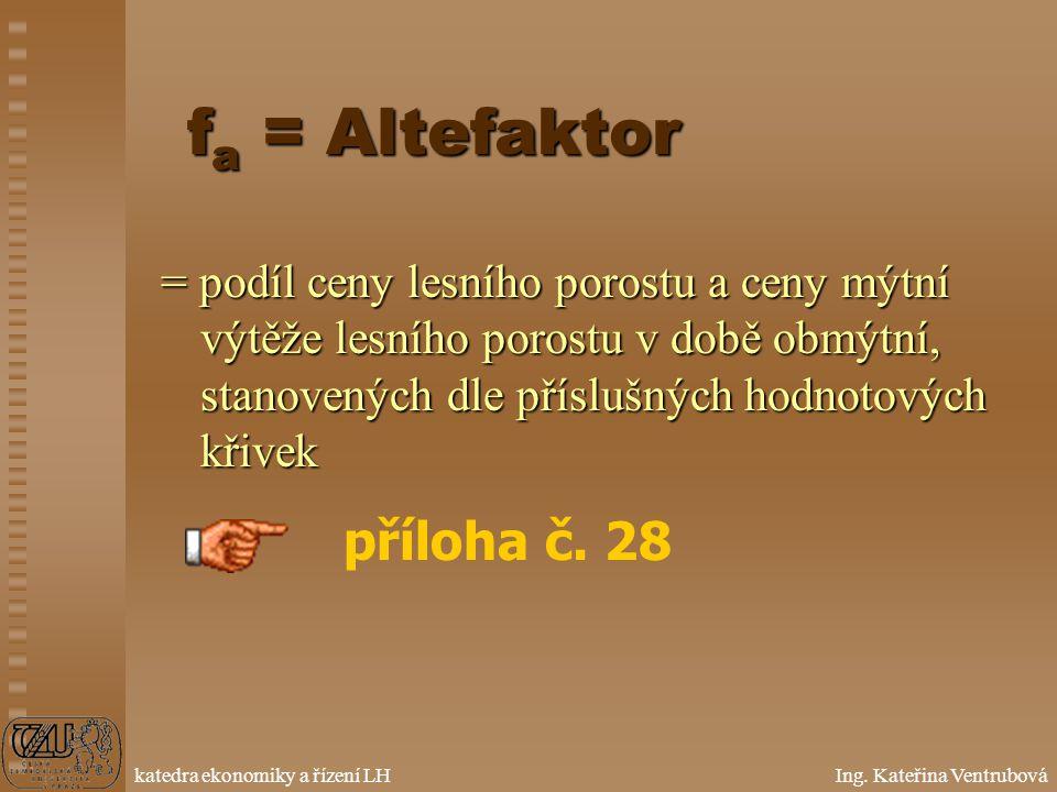 fa = Altefaktor příloha č. 28