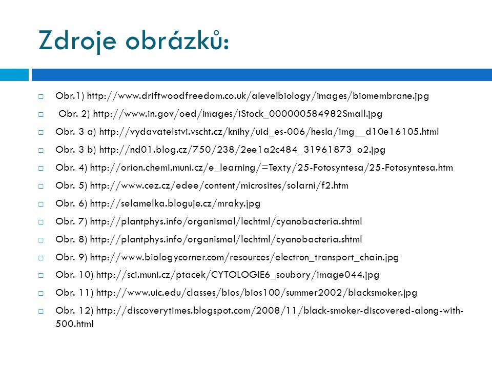 Zdroje obrázků: Obr.1) http://www.driftwoodfreedom.co.uk/alevelbiology/images/biomembrane.jpg.