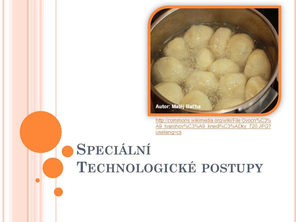 Speciální Technologické postupy