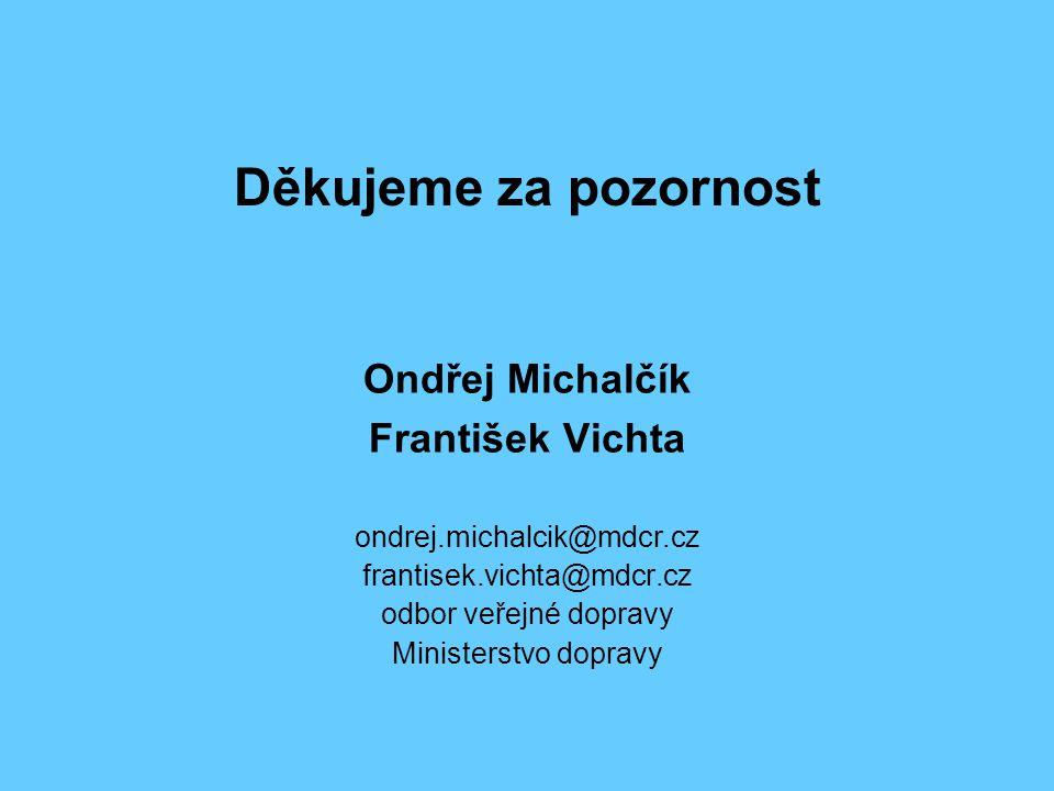 Děkujeme za pozornost Ondřej Michalčík František Vichta