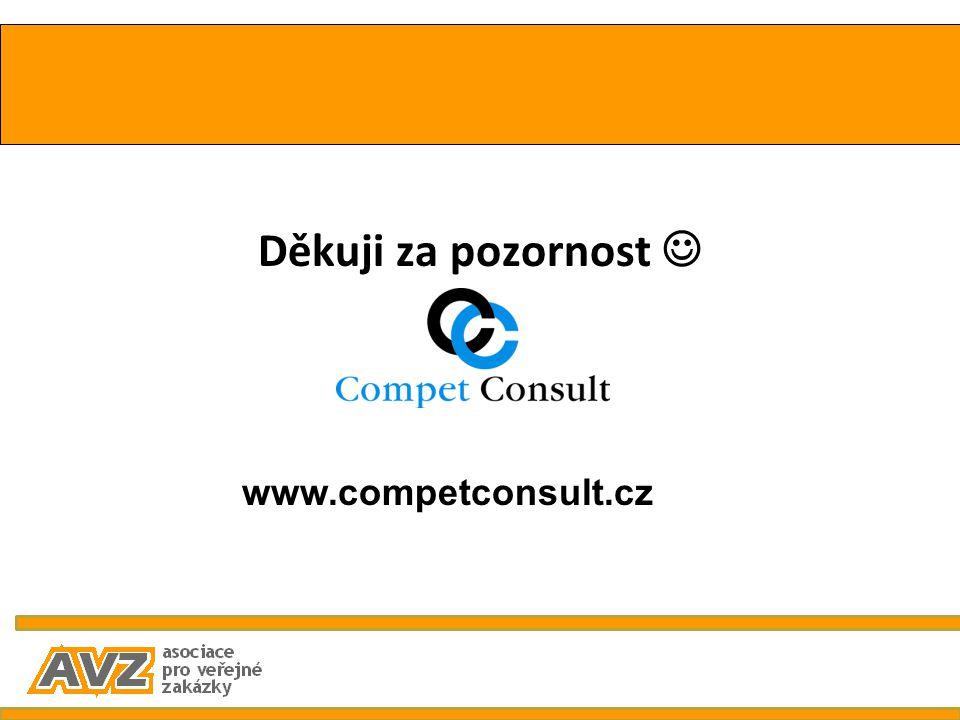 Děkuji za pozornost  www.competconsult.cz