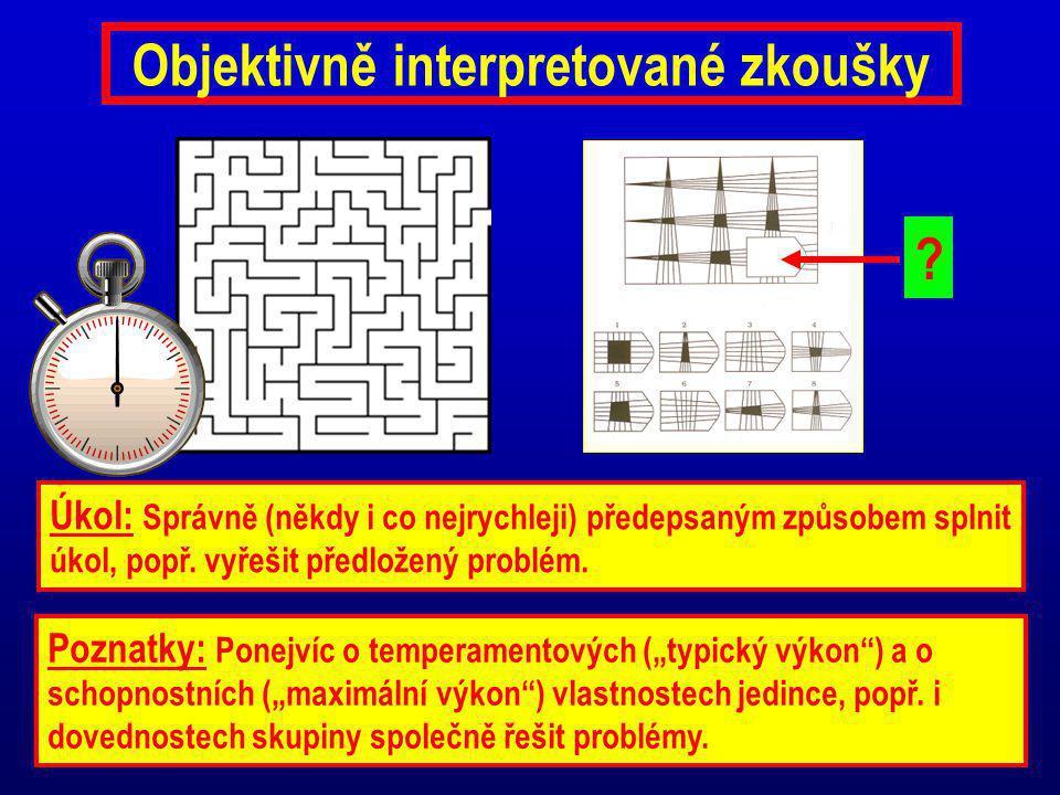 Objektivně interpretované zkoušky
