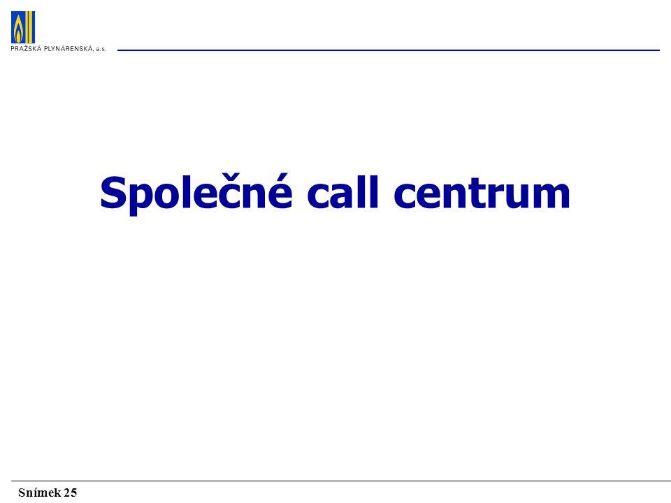 Společné call centrum