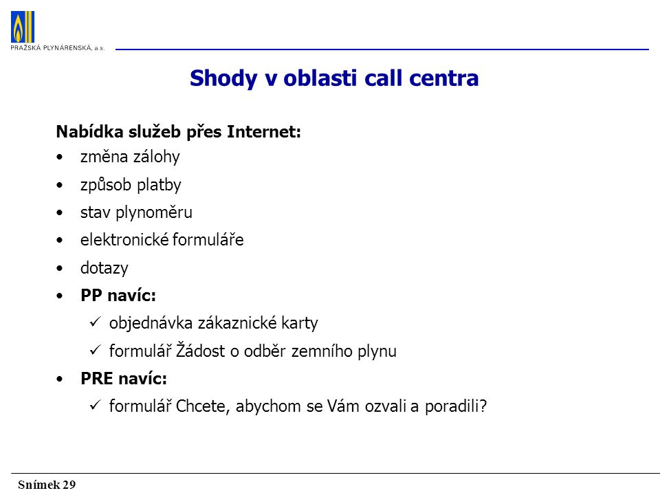 Shody v oblasti call centra