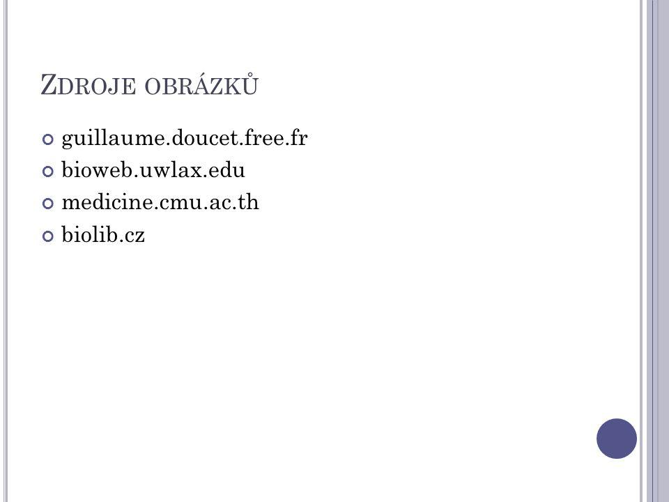 Zdroje obrázků guillaume.doucet.free.fr bioweb.uwlax.edu
