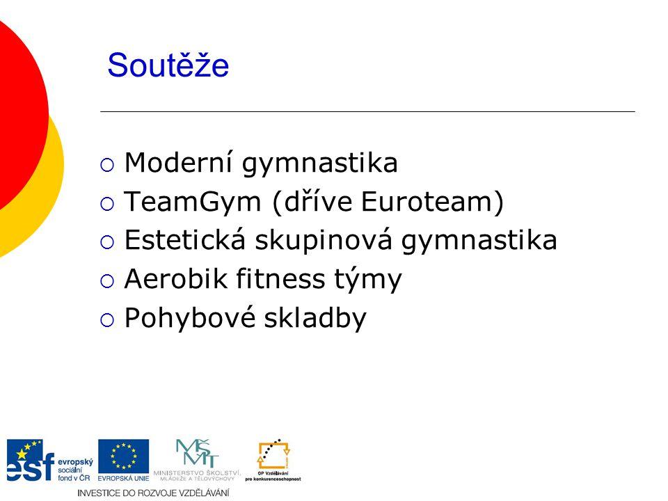 Soutěže Moderní gymnastika TeamGym (dříve Euroteam)