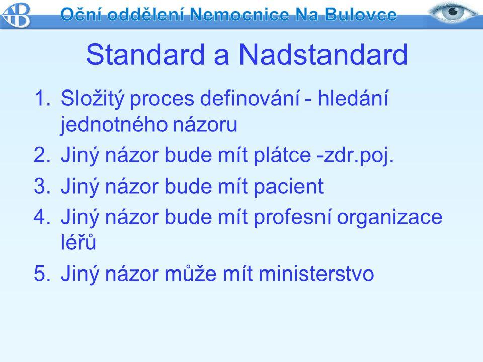 Standard a Nadstandard