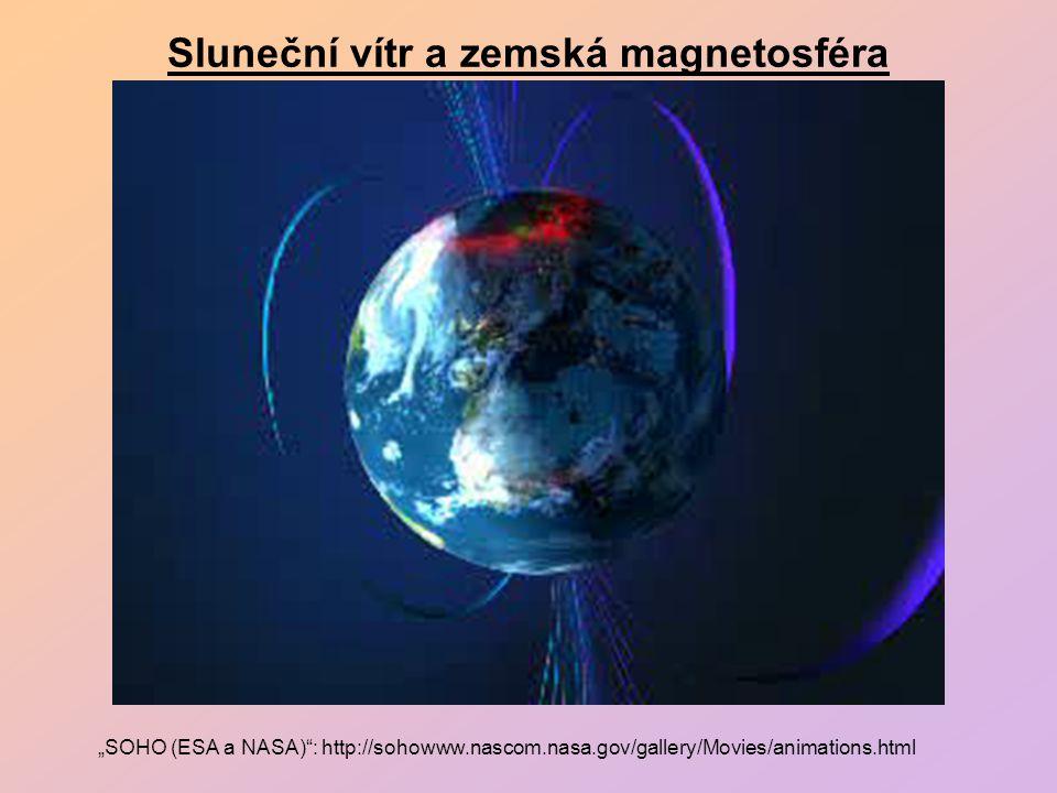 Sluneční vítr a zemská magnetosféra