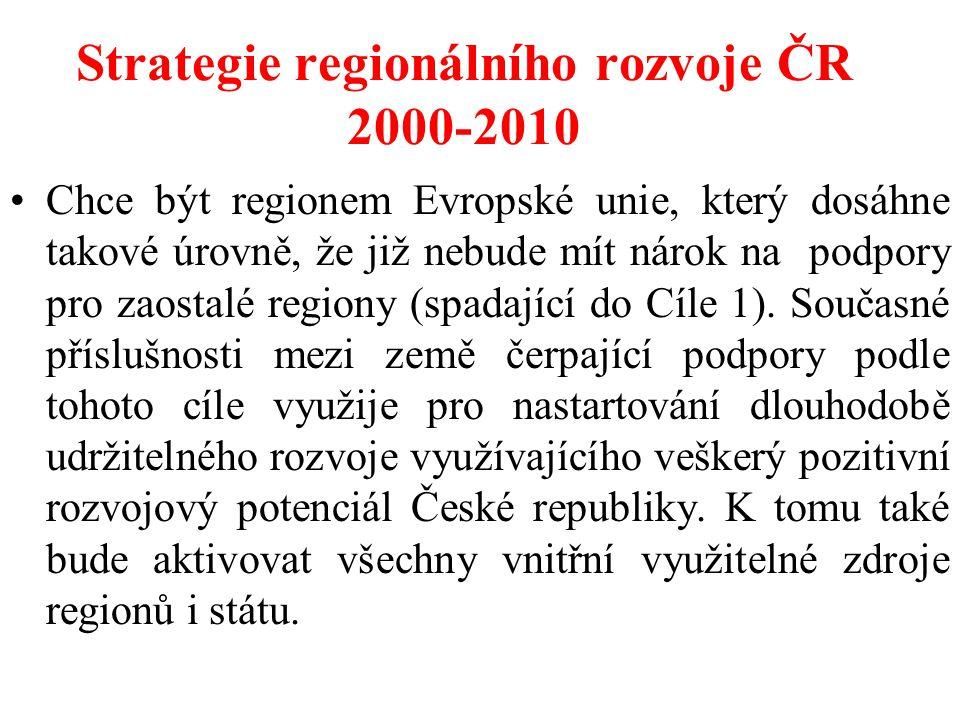 Strategie regionálního rozvoje ČR 2000-2010