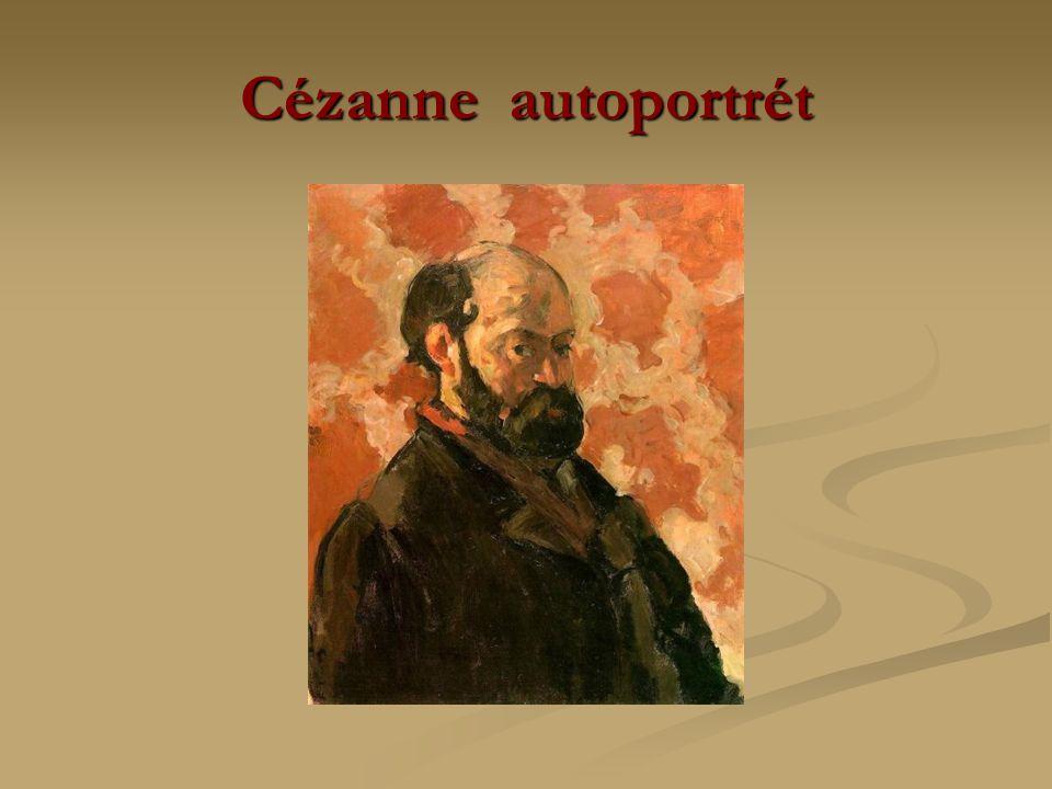 Cézanne autoportrét