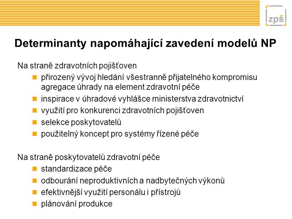 Determinanty napomáhající zavedení modelů NP