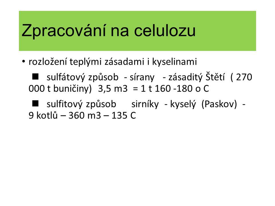 Zpracování na celulozu