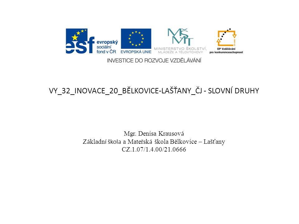 VY_32_INOVACE_20_BĚLKOVICE-LAŠŤANY_ČJ - SLOVNÍ DRUHY