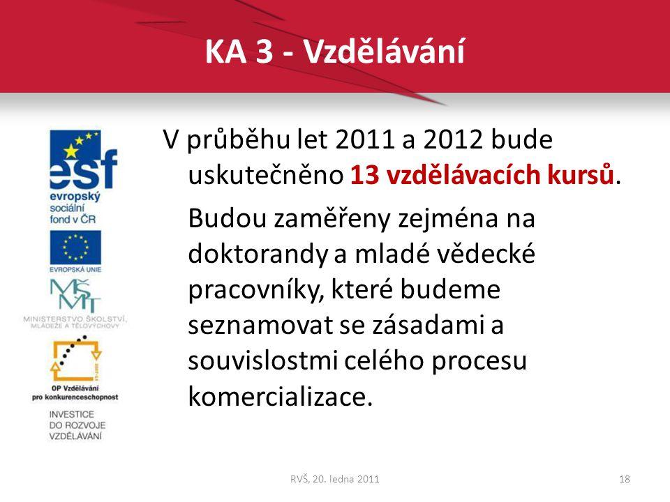 KA 3 - Vzdělávání