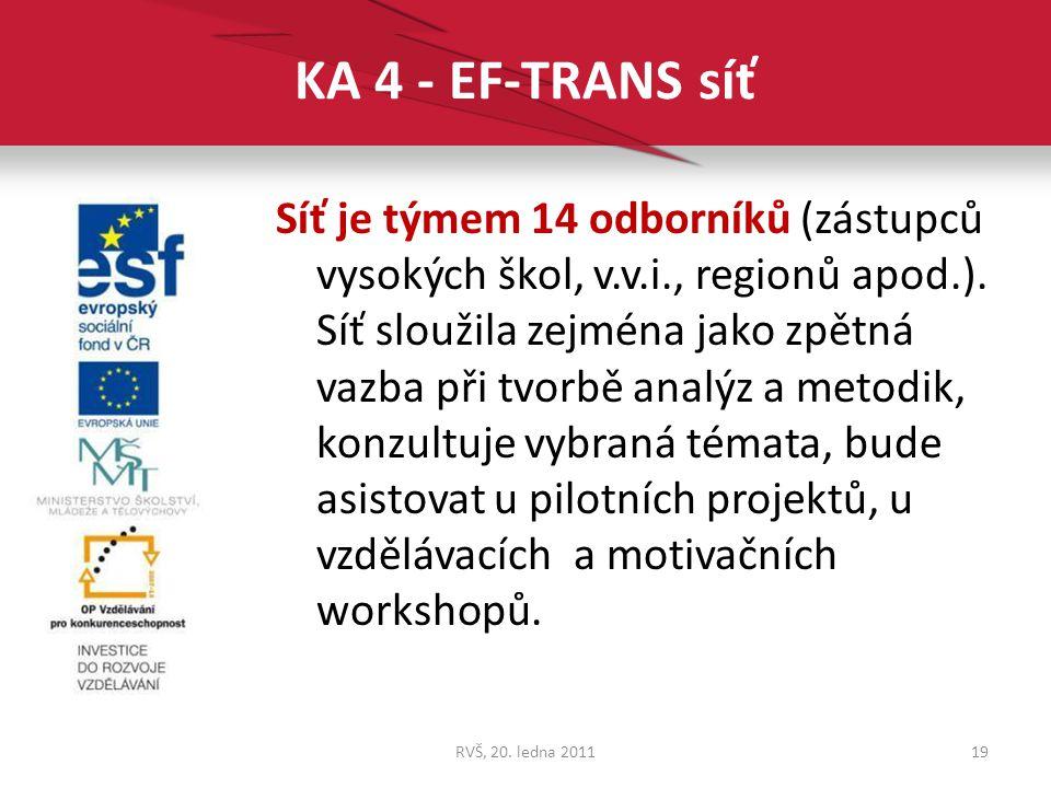 KA 4 - EF-TRANS síť