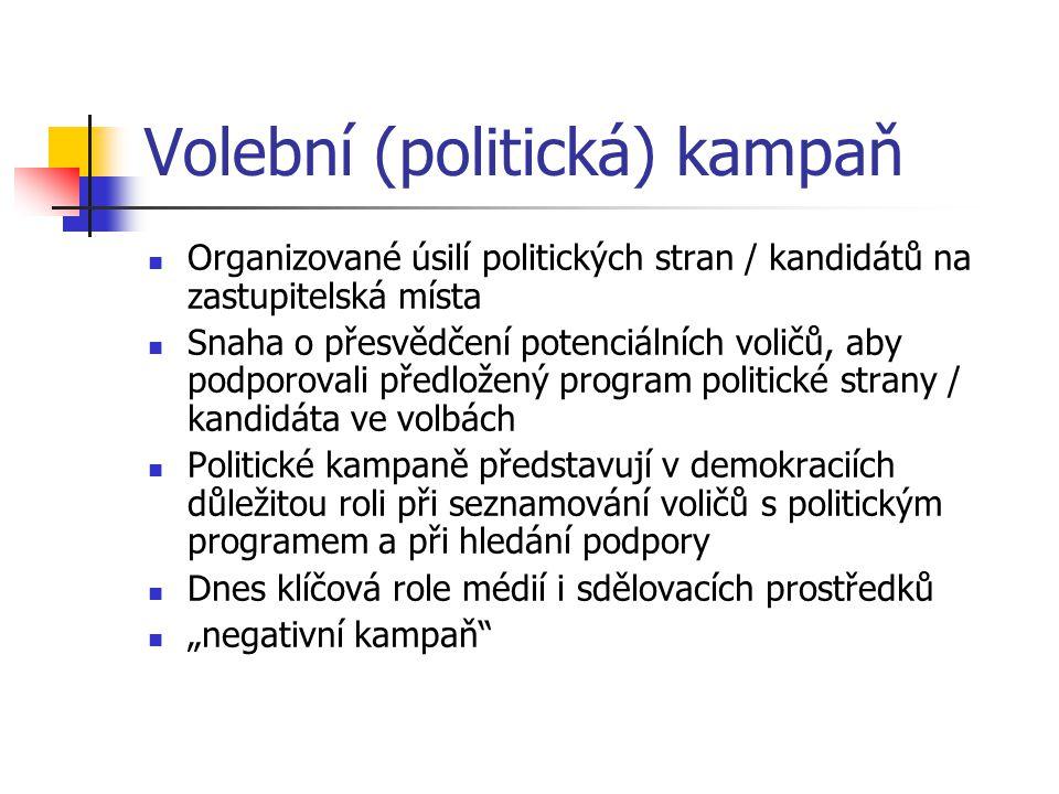 Volební (politická) kampaň