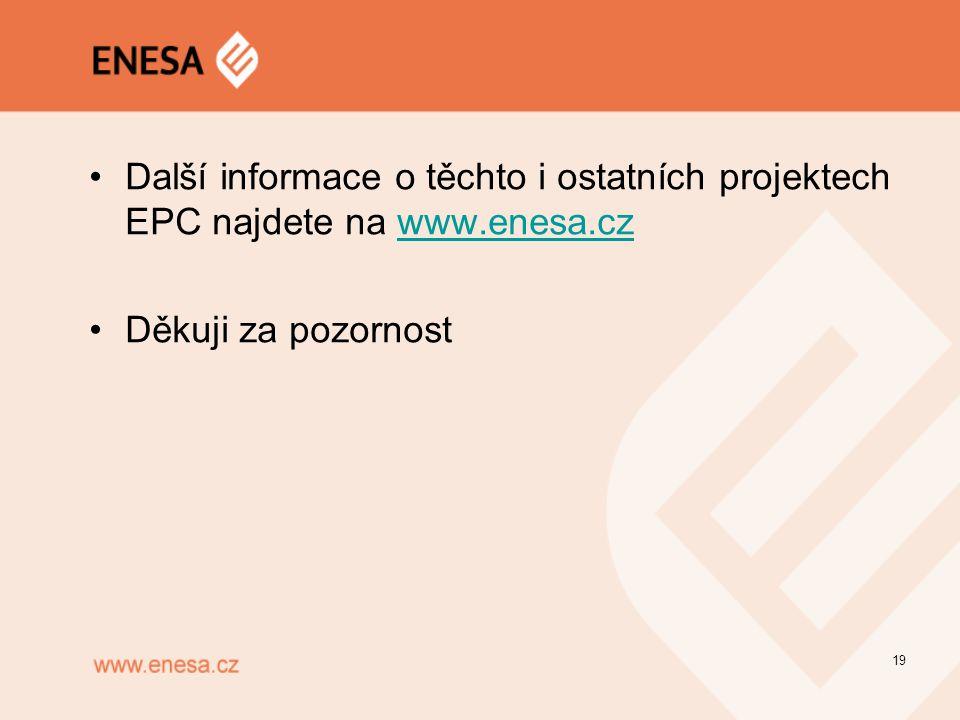 Další informace o těchto i ostatních projektech EPC najdete na www