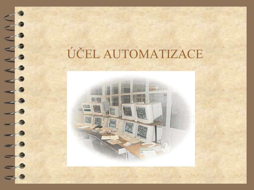ÚČEL AUTOMATIZACE (c) 1999. Tralvex Yeap. All Rights Reserved