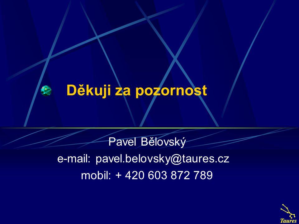 e-mail: pavel.belovsky@taures.cz