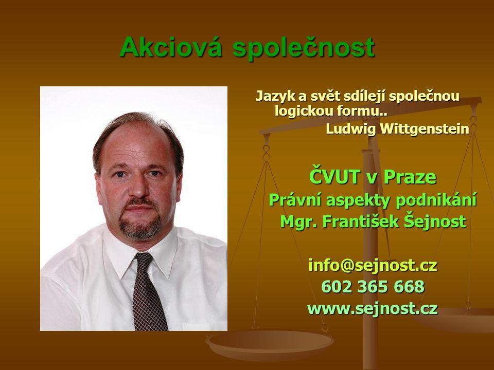 Právní aspekty podnikání
