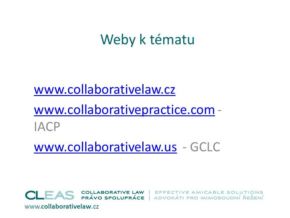 Weby k tématu www.collaborativelaw.cz