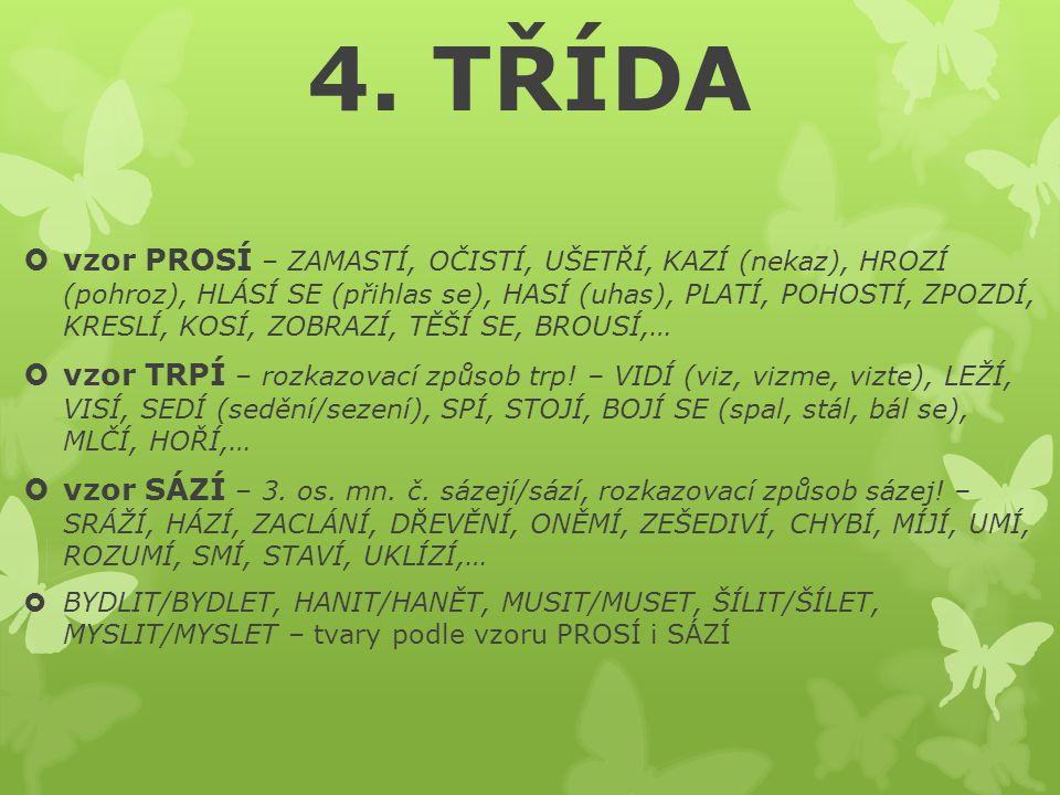 4. TŘÍDA
