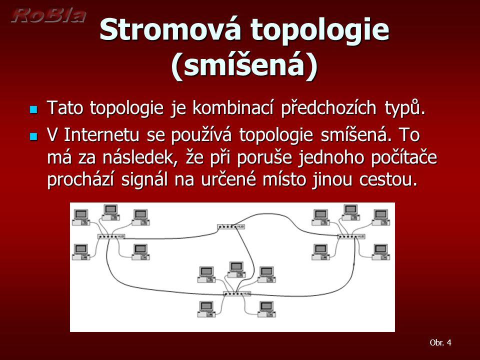 Stromová topologie (smíšená)