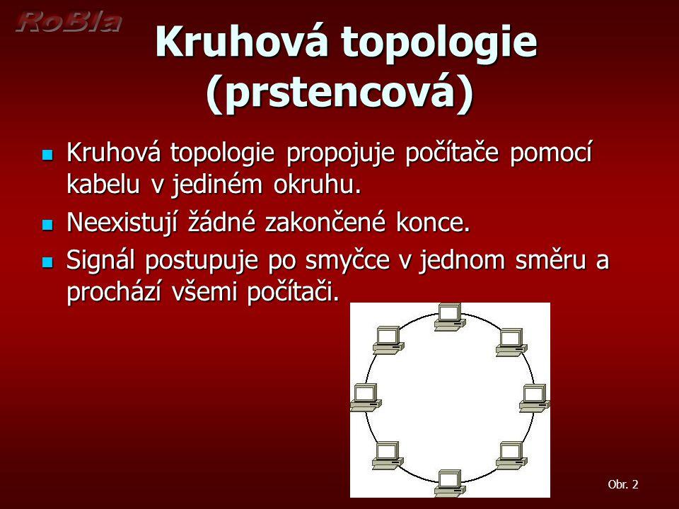 Kruhová topologie (prstencová)