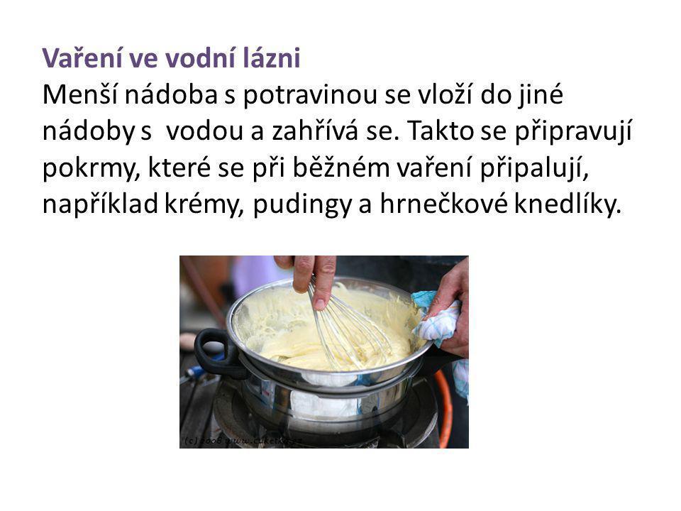 Vaření ve vodní lázni