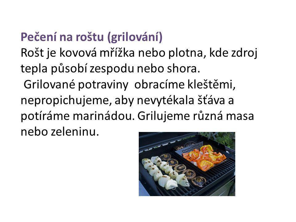 Pečení na roštu (grilování)