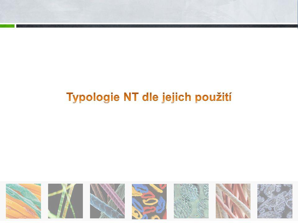 Typologie NT dle jejich použití