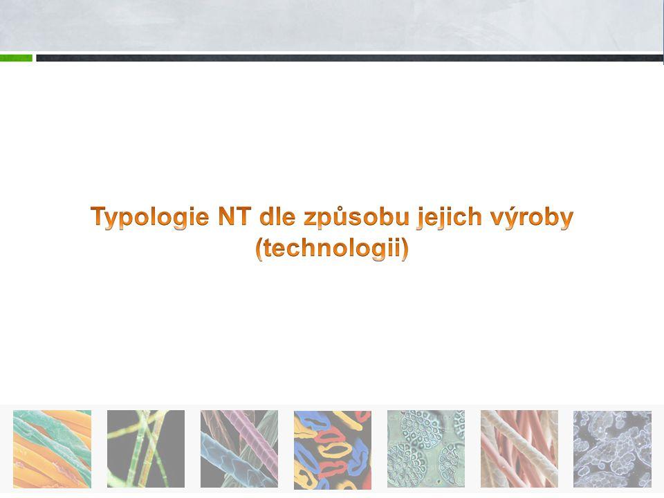 Typologie NT dle způsobu jejich výroby