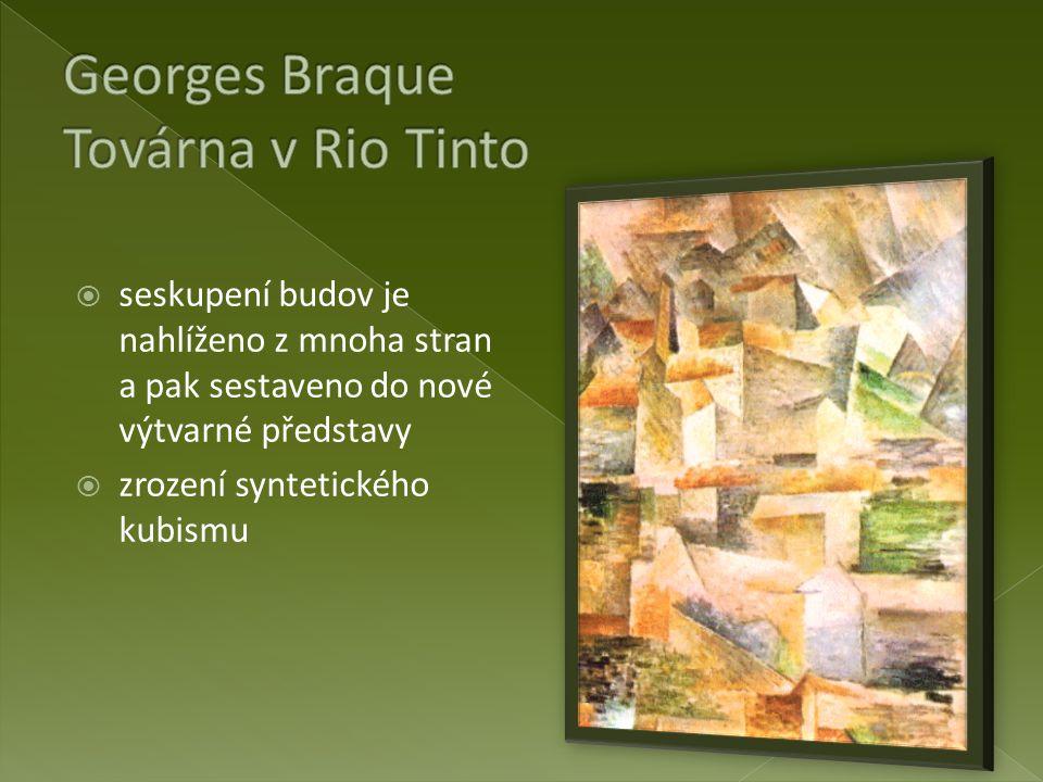 Georges Braque Továrna v Rio Tinto