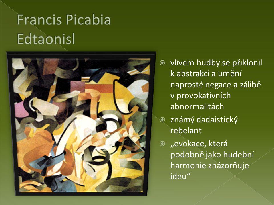 Francis Picabia Edtaonisl