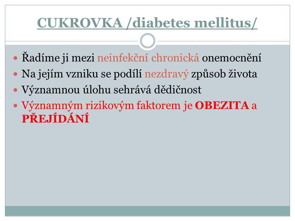 CUKROVKA /diabetes mellitus/