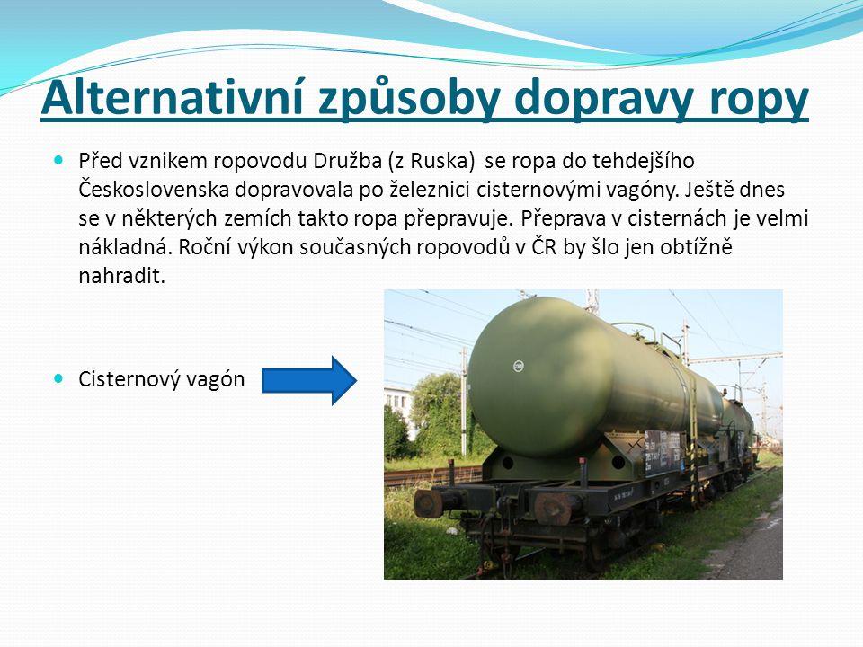 Alternativní způsoby dopravy ropy