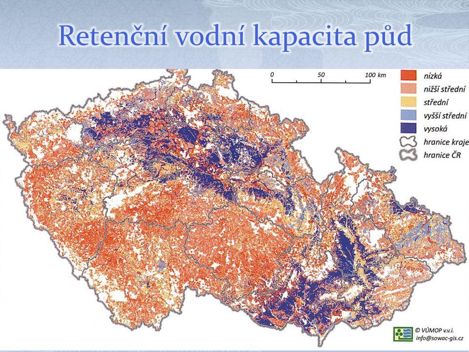 Retenční vodní kapacita půd