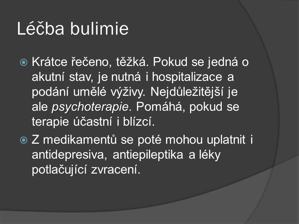 Léčba bulimie