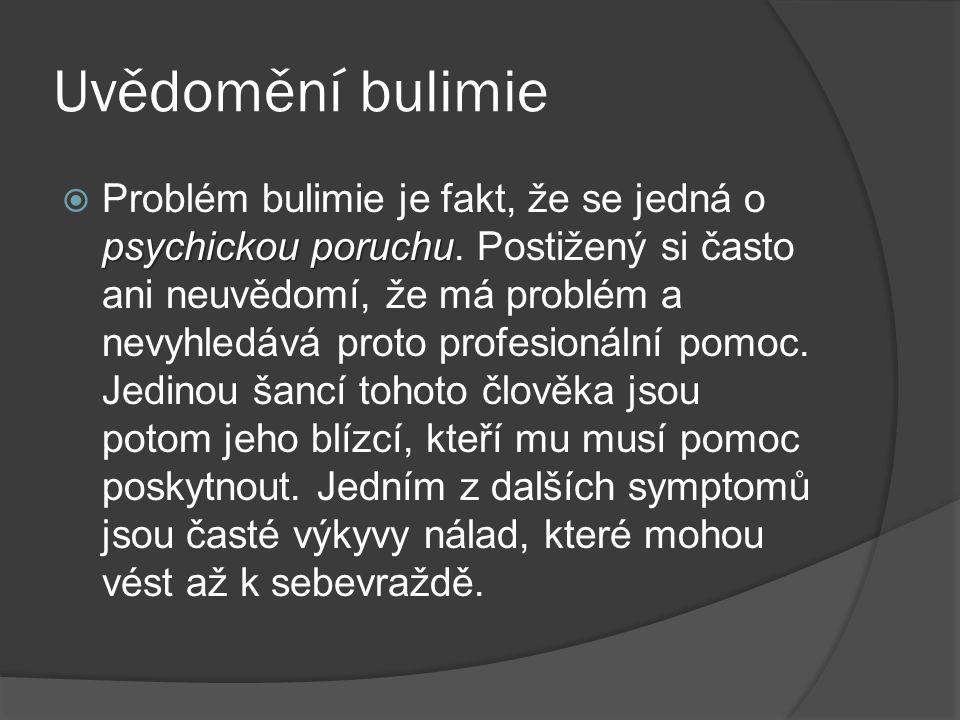 Uvědomění bulimie
