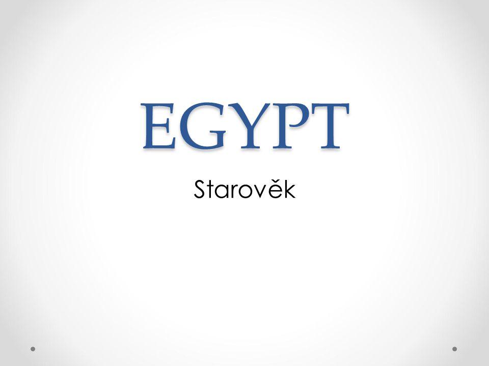 EGYPT Starověk