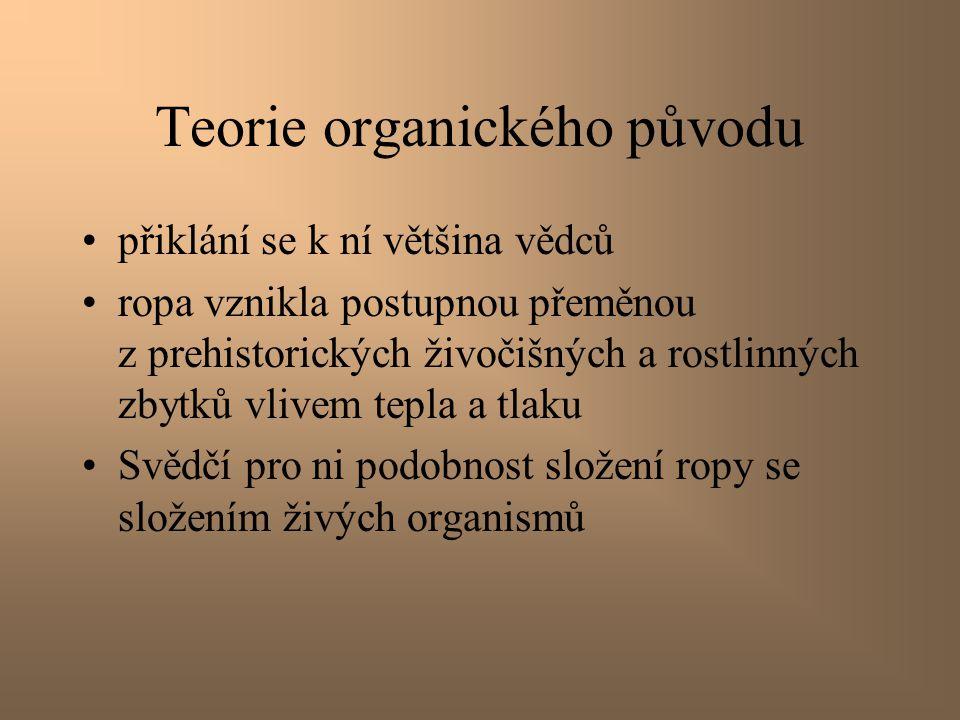 Teorie organického původu
