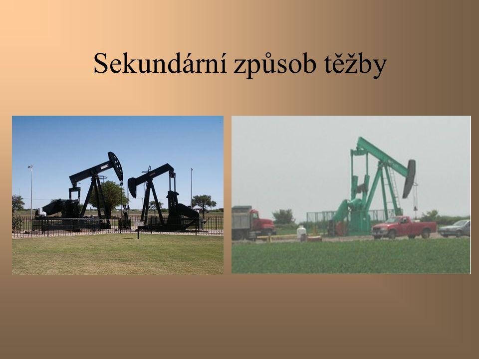 Sekundární způsob těžby