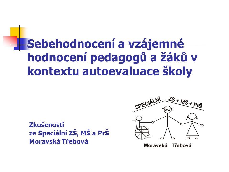 Zkušenosti ze Speciální ZŠ, MŠ a PrŠ Moravská Třebová