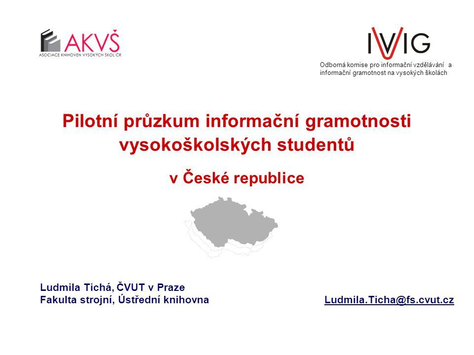 Odborná komise pro informační vzdělávání a informační gramotnost na vysokých školách