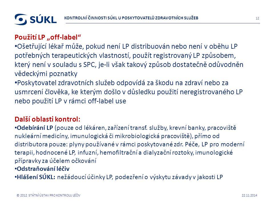 """Použití LP """"off-label"""